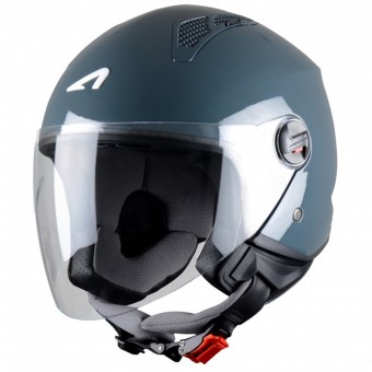 Casque Open Face Astone Minijet Dark Grey