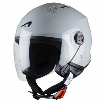 Casque Open Face Astone Minijet Light Grey
