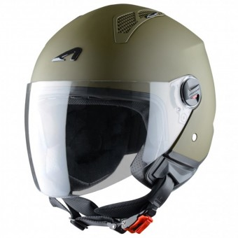 Casque Open Face Astone Minijet Matt Army
