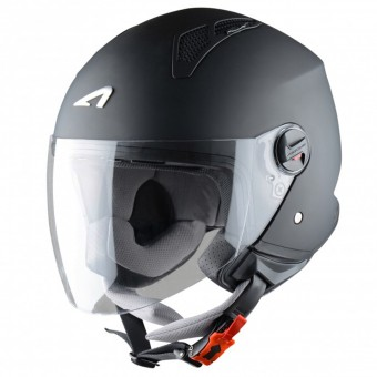 Casque Open Face Astone Minijet Matt Black