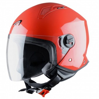 Casque Open Face Astone Minijet Red