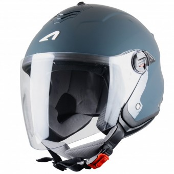 Casque Open Face Astone Minijet S Dark Grey