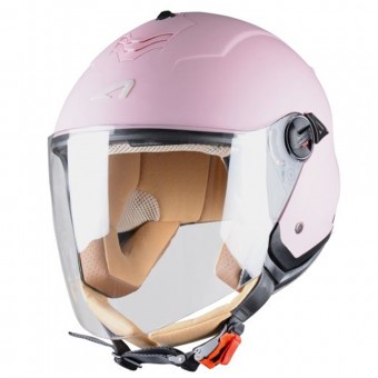 Casque Open Face Astone Minijet S Flamingo