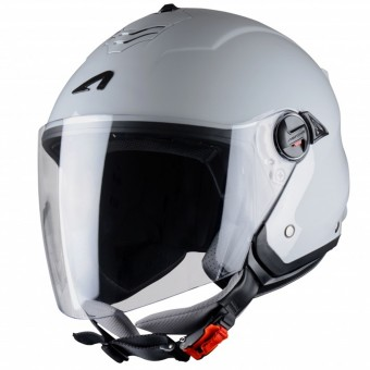 Casque Open Face Astone Minijet S Light Grey