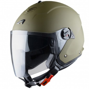 Casque Open Face Astone Minijet S Matt Army
