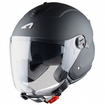 Casque Open Face Astone Minijet S Matt Black