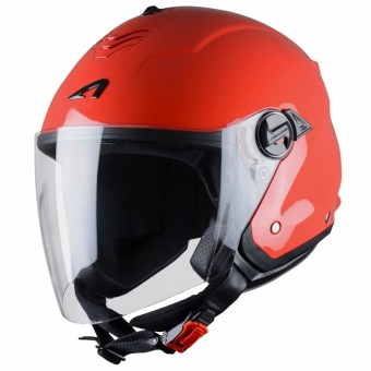 Casque Open Face Astone Minijet S Red