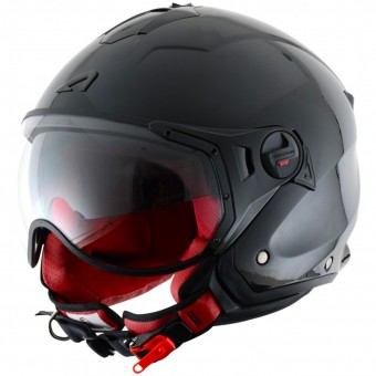 Casque Open Face Astone Minijet Sport Black