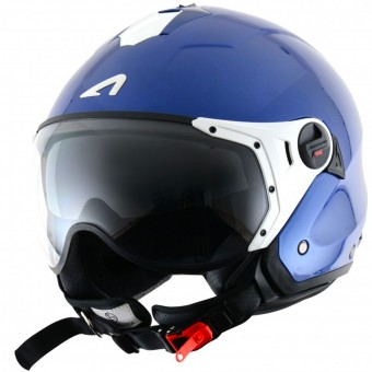 Casque Open Face Astone Minijet Sport Blue