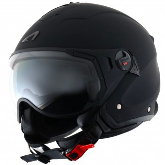 Casque Open Face Astone Minijet Sport Matt Black