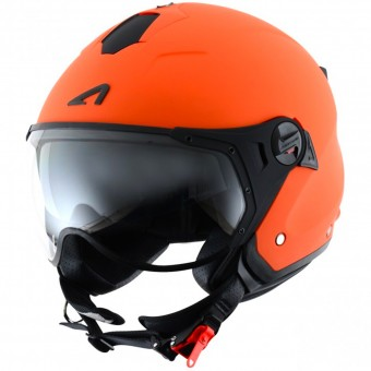 Casque Open Face Astone Minijet Sport Matt Orange