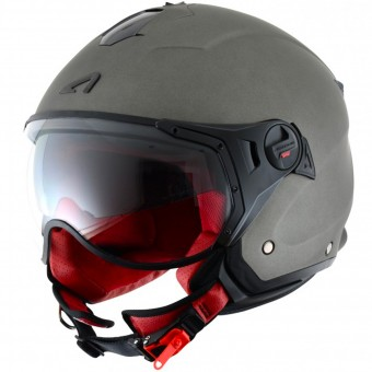 Casque Open Face Astone Minijet Sport Matt Titanium