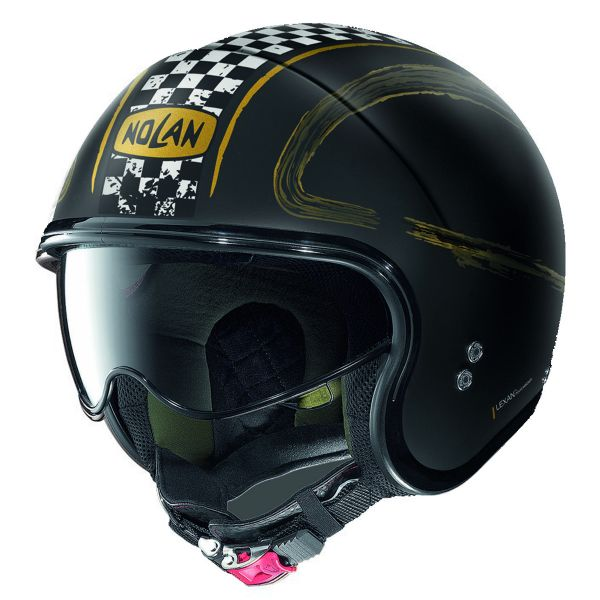 Nolan CASCO N21 VISOR GETAWAY FLAT BLACK XXS