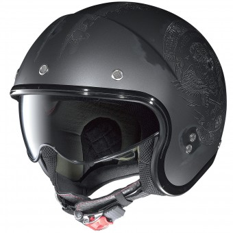 Casque Open Face Nolan N21 Speed Junkies Flat Asphalt 33