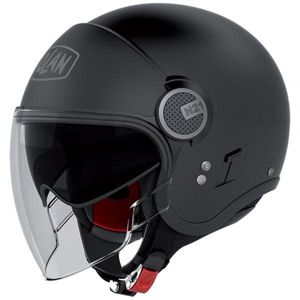 Open Face Nolan N21 Visor Classic Flat Black 10