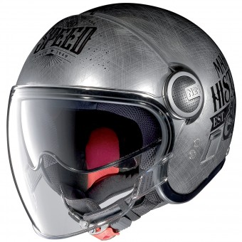 Casque Open Face Nolan N21 Visor Moto GP Legends Chrome 30