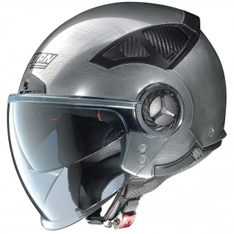 Casque Open Face Nolan N33 Evo Classic Scratched Chrome 6