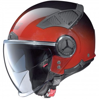 Casque Open Face Nolan N33 Evo Fade Cherry 7
