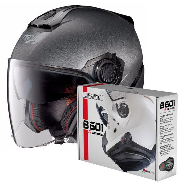 Helmet Nolan N40 5 Special N Com Black Graphite 9 Ready To Ship