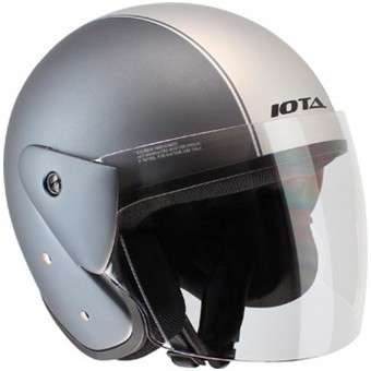 Casque Open Face IOTA OP02 Town Matt Titanium