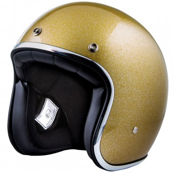 Casque Open Face Stormer Pearl Glitter Gold