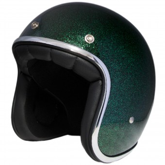 Casque Open Face Stormer Pearl Glitter Green