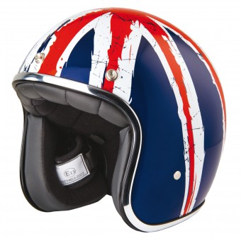 Casque Open Face Stormer Pearl Union Jack