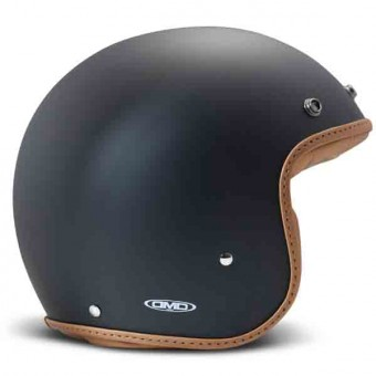 Casque Open Face Dmd Pillow Black Matt Brown