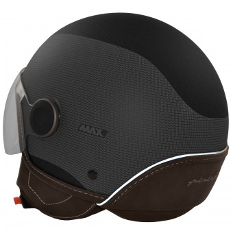 Casque Open Face Pininfarina Pininfarina City Glossy Black Matt