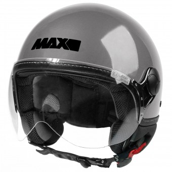 Casque Open Face MAX Power Design Grey