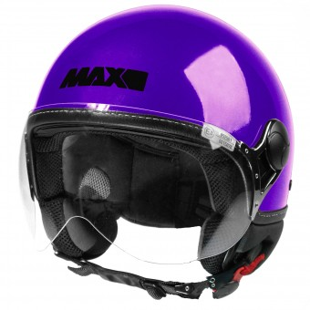 Casque Open Face MAX Power Design Purple