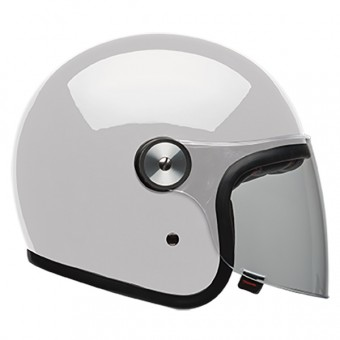 Casque Open Face Bell Riot Solid White