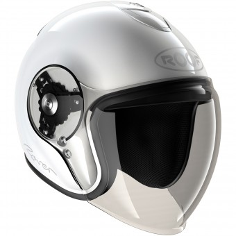 Casque Open Face Roof Rover White