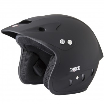 Casque Open Face SHOT Shock Quad Matt Black