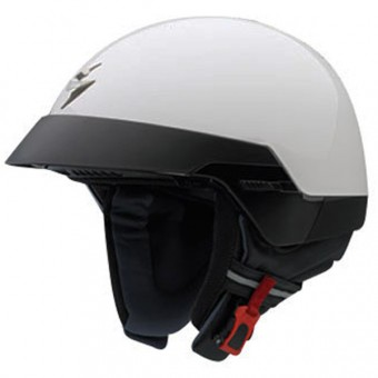 Casque Open Face Scorpion EXO 100 White