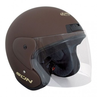 Casque Open Face Stormer Sun Chocolate