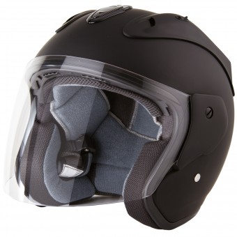 Casque Open Face Stormer Sun Evo Matt Black
