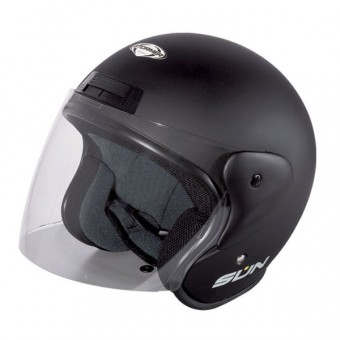 Casque Open Face Stormer Sun Matt Black
