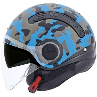 Casque Open Face Nexx SX.10 Camo Blue