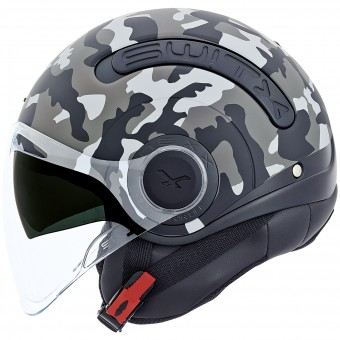 Casque Open Face Nexx SX.10 Camo Grey