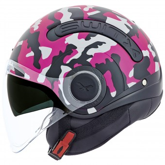Casque Open Face Nexx SX.10 Camo Pink