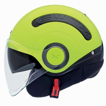 Casque Open Face Nexx SX.10 Switx Yellow Neon