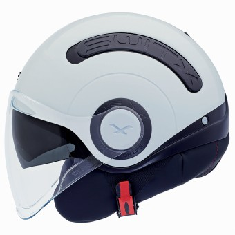 Casque Open Face Nexx SX.10 Switx Black White