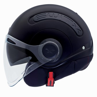 Casque Open Face Nexx SX.10 Switx Matt Black