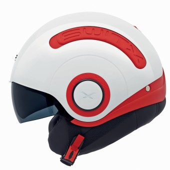 Casque Open Face Nexx SX.10 Switx Red White