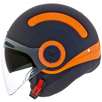 Casque Open Face Nexx SX.10 Switz Black Matt Orange