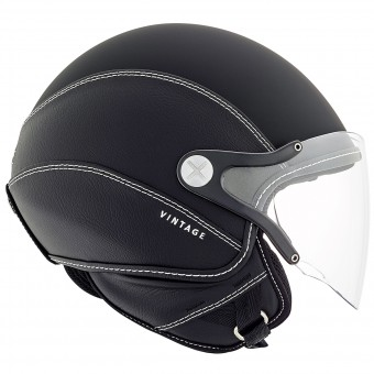 Casque Open Face Nexx SX.60 Vintage 2 Black Mat