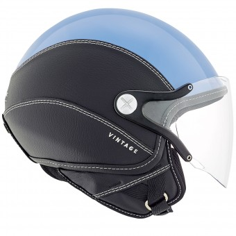 Casque Open Face Nexx SX.60 Vintage 2 Blue Black