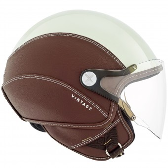 Casque Open Face Nexx SX.60 Vintage 2 Mint Brown