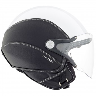 Casque Open Face Nexx SX.60 Vintage 2 White Black